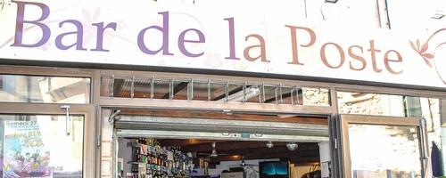 Le Bar de la Poste à la Tour D'Aigues - Bar Glacier Crêperie