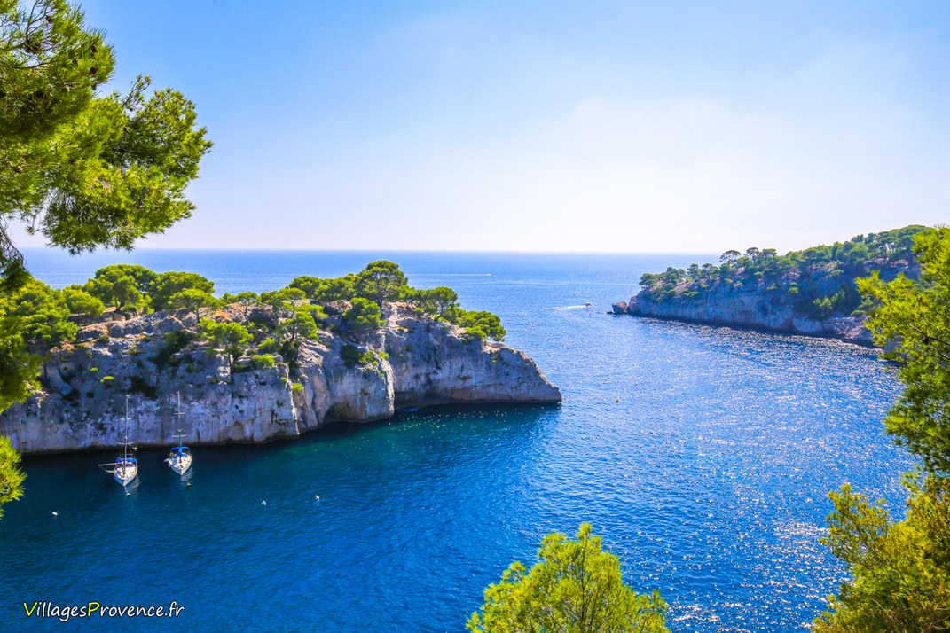 Calanques - Port Miou - Cassis