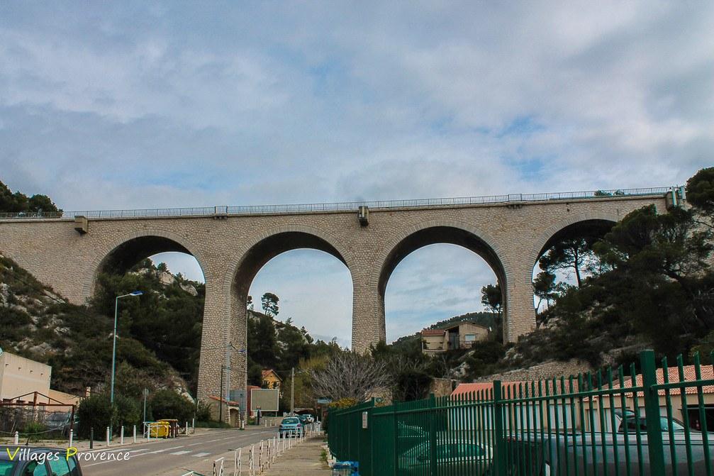 Viaduc Ferroviaire - Eaux salées - Carry-le-Rouet