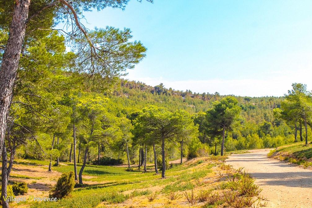 Sentier - Caucarrières - Ensuès-la-Redonne