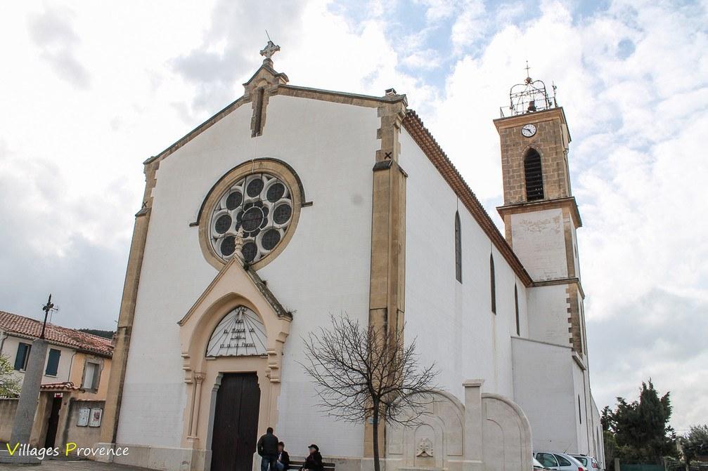Eglise - Sainte-Cécile - Châteauneuf-les-Martigues