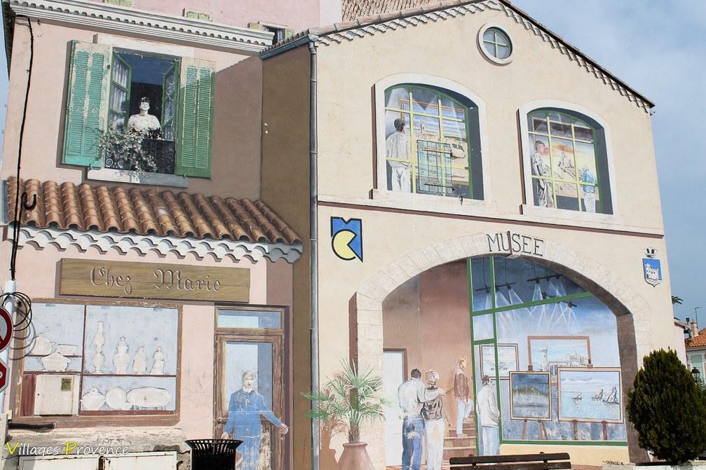 Fresque - Châteauneuf-les-Martigues