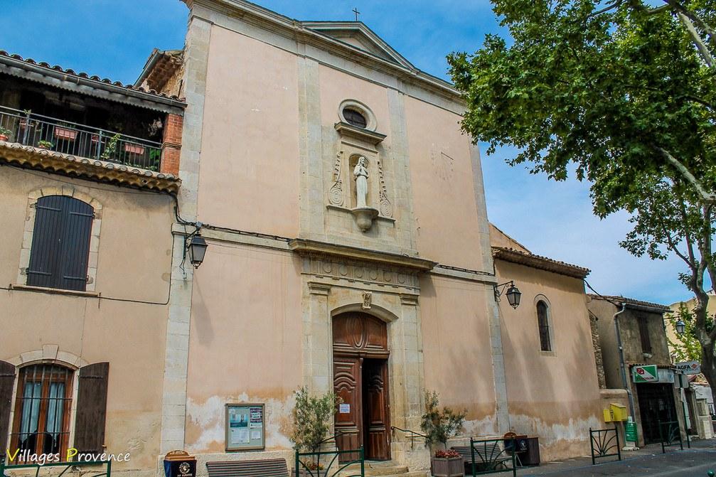 Eglise - Saint-Sauveur - La Fare-les-Oliviers