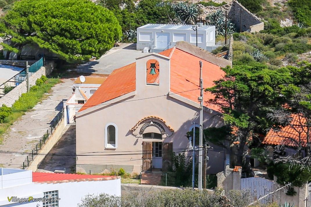 Chapelle - Saint Lucien des Goudes - Marseille