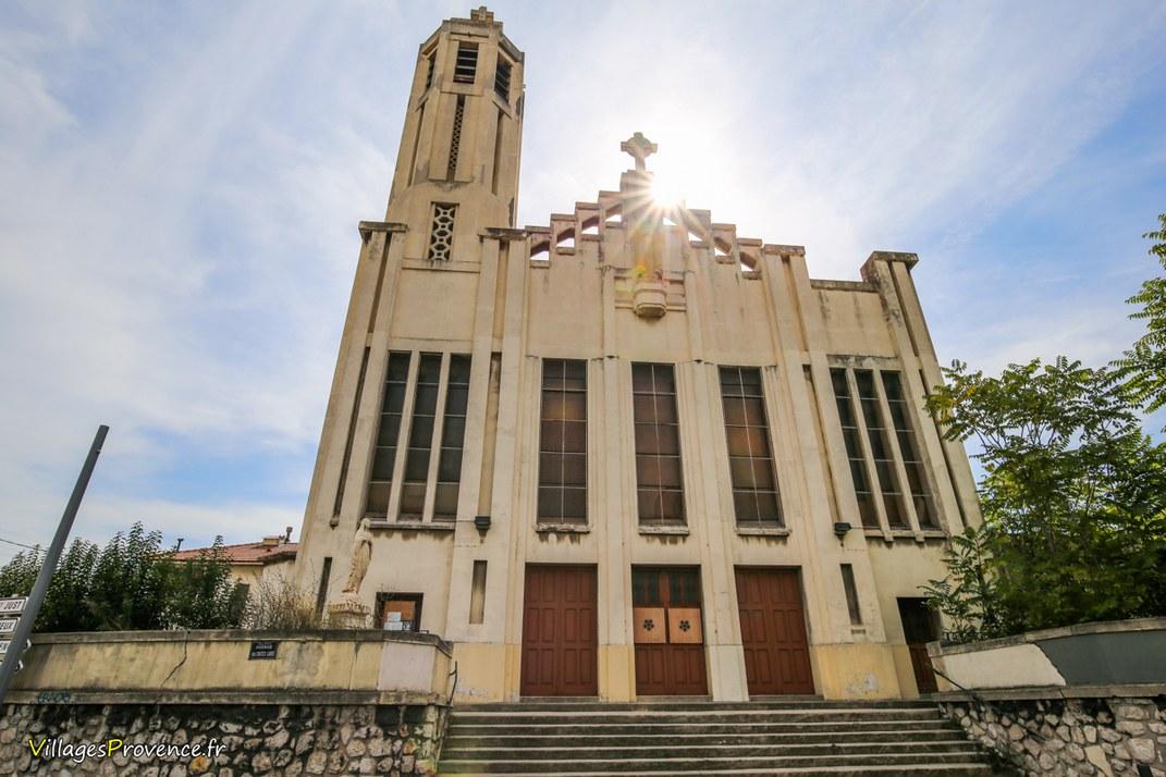 Eglise - Sainte-Thérèse de l'enfant Jésus - Marseille