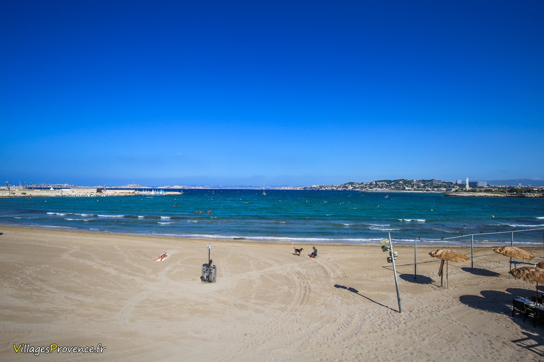 Plage - Pointe Rouge - Marseille