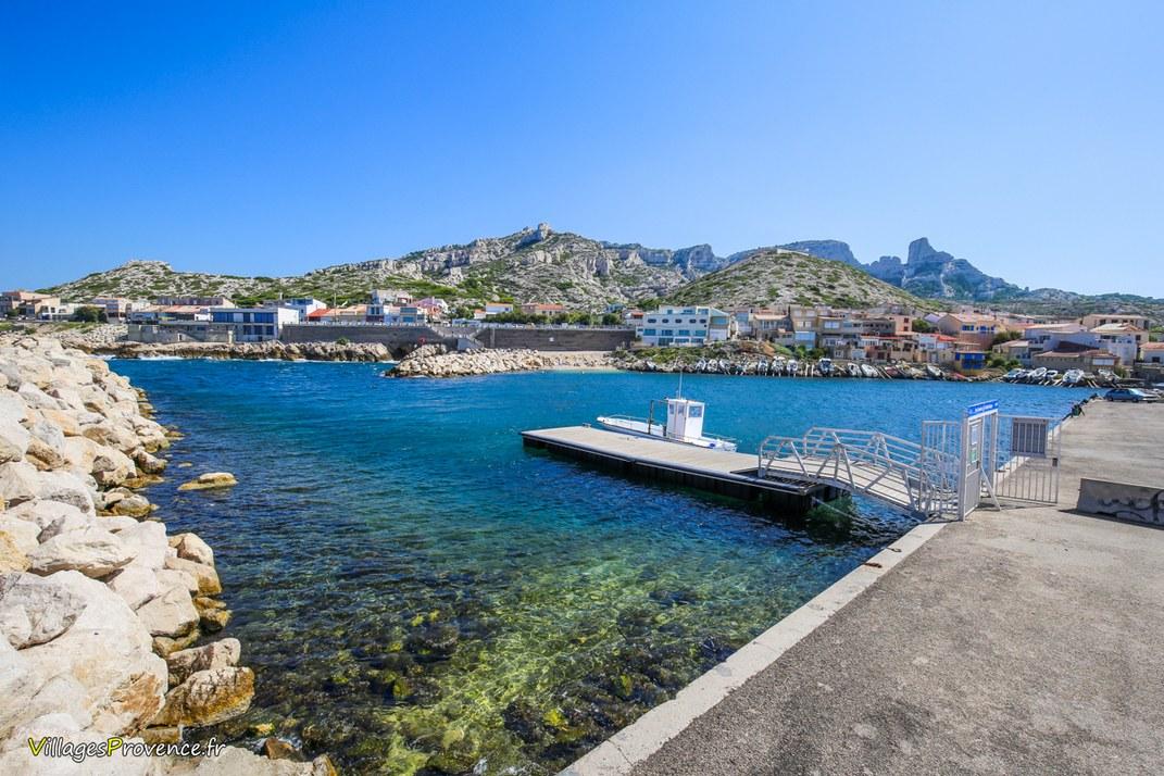 Port - Les Goudes - Marseille