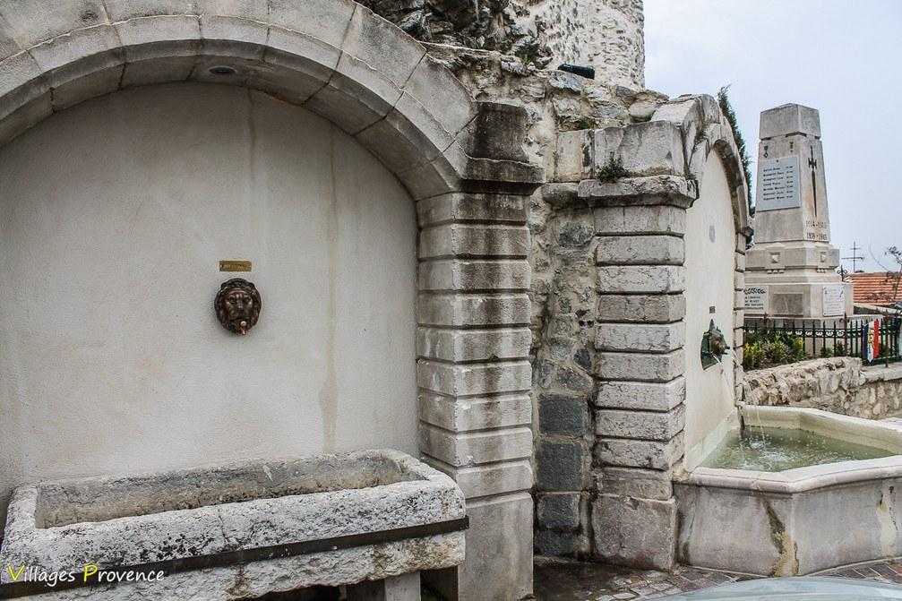 Fontaine - Mimet