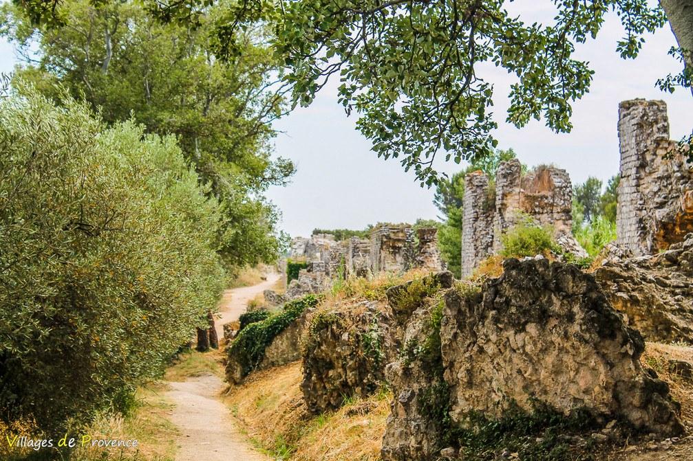 Aqueduc - Fontvieille