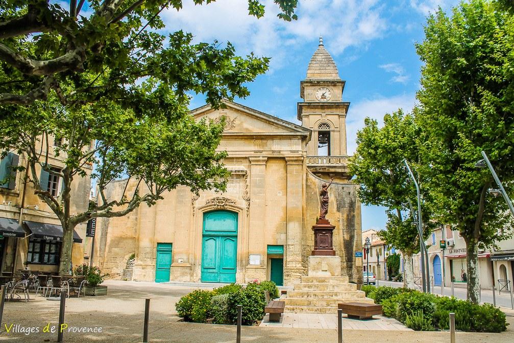 Eglise - Saint-Pierre-ès-Liens - Fontvieille