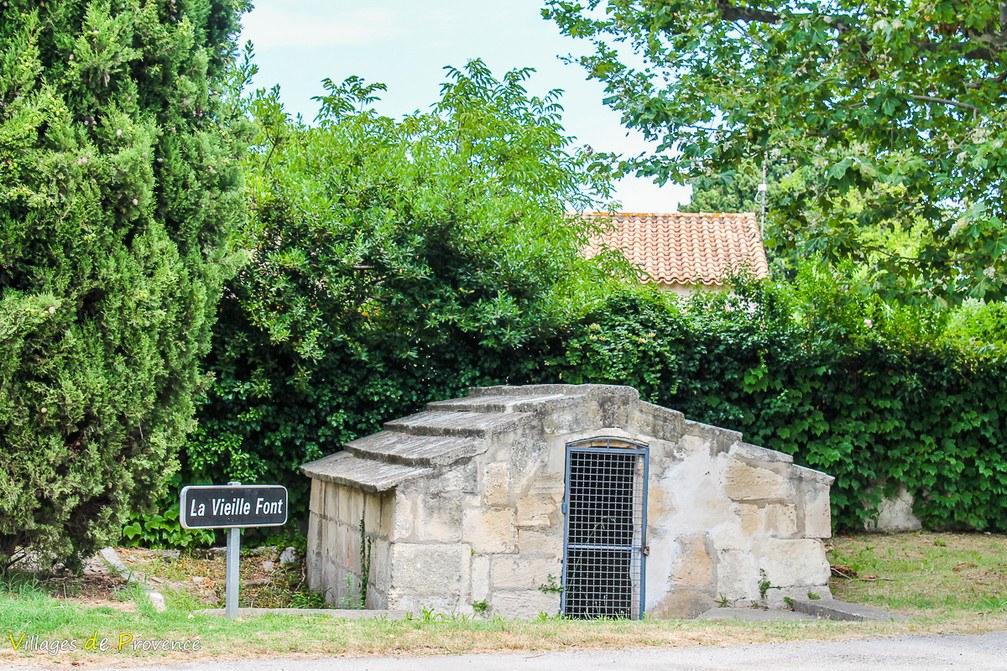 Fontaine - Vieille Font - Fontvieille