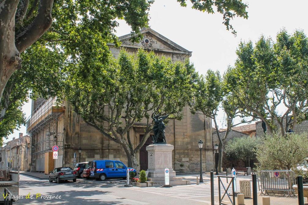 Eglise - Saint-Jacques le Majeur - Mouriès