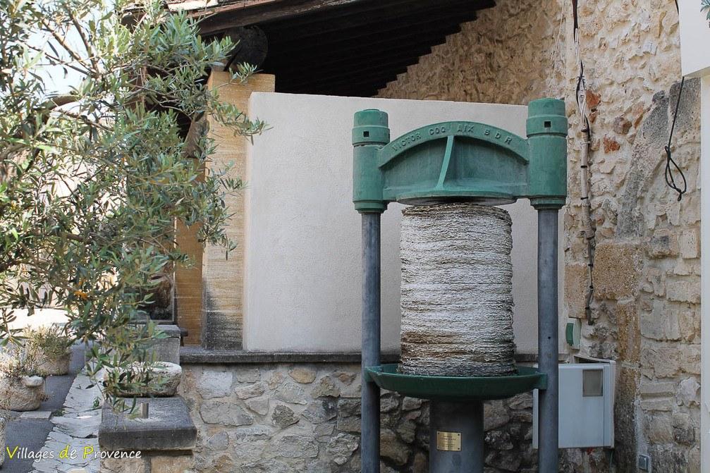 Presse à huile - Mouriès