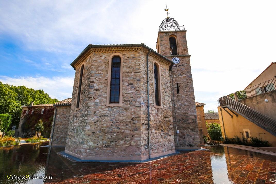 Eglise - Saint Antoine l'Ermite - Châteauneuf-le-Rouge