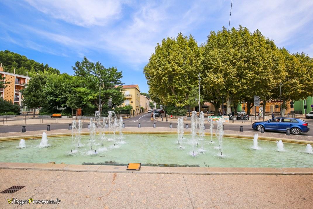 Fontaine - Saint Roch - Gardanne