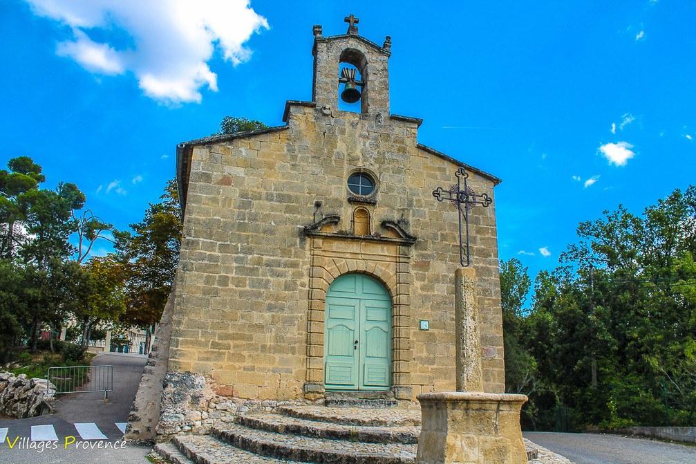 Chapelle - Notre Dame de la Consolation - La Bastide-des-Jourdans