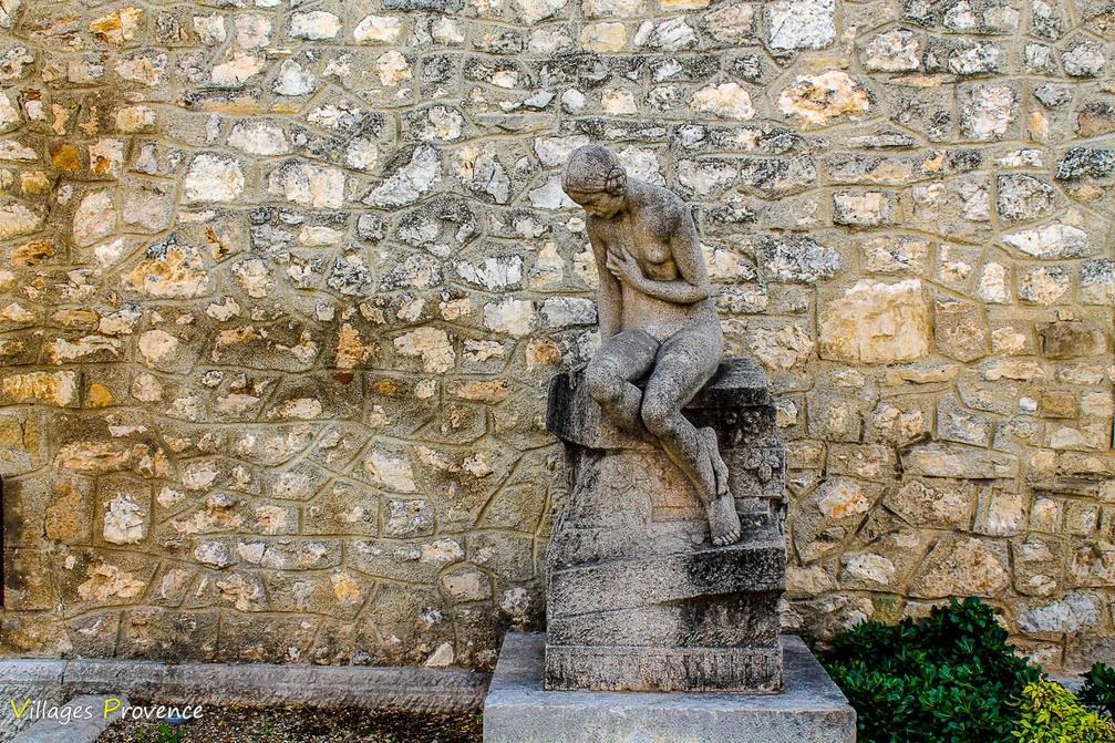 Fontaine de l'Asolescente - La Bastide-des-Jourdans