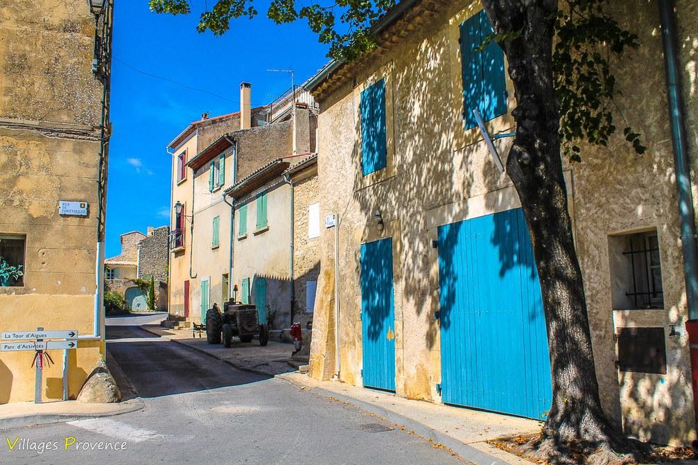 Rue de Fontvieille - La Bastidonne