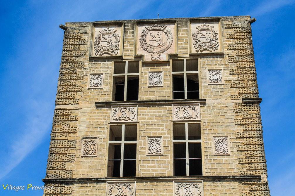 Château - La Tour-d'Aigues