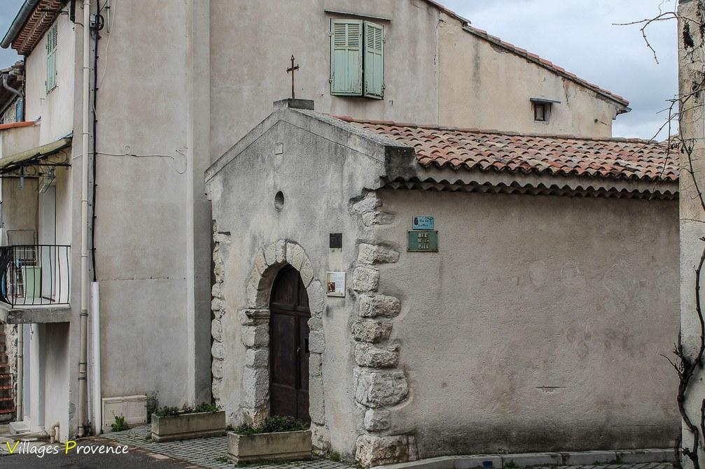 Chapelle - Saint-Roch - Fuveau